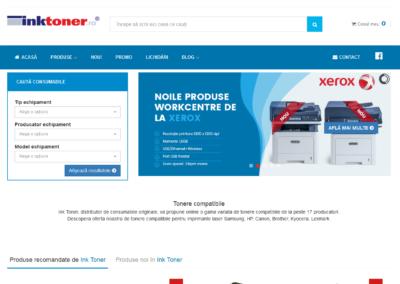 Opencart site for inktoner