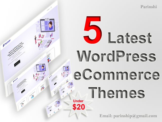 Top 5 New WordPress eCommerce Multipurpose Themes | Themeforest